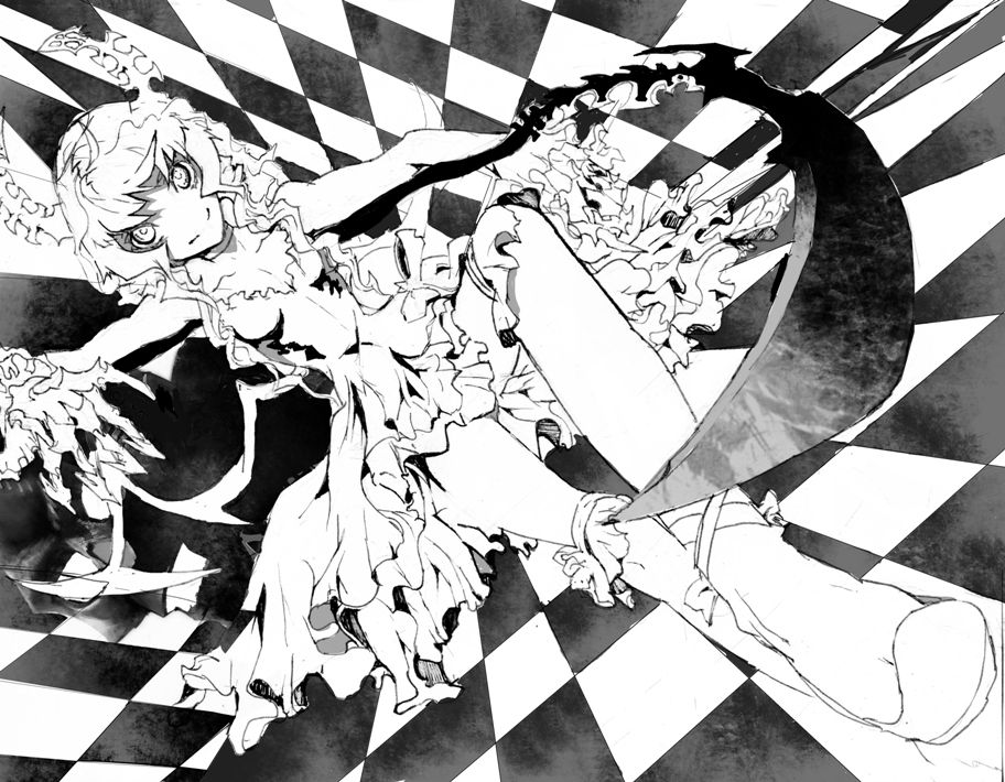 Dead Master - Black☆Rock Shooter | black rock shooter | Pinterest ...