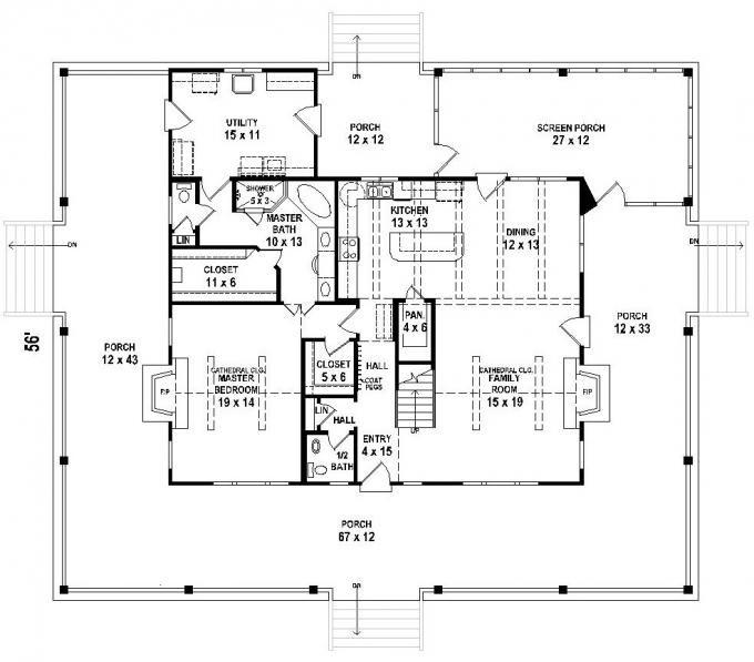 Terrific 17 Best Images About Home Plans On Pinterest Craftsman Square Largest Home Design Picture Inspirations Pitcheantrous