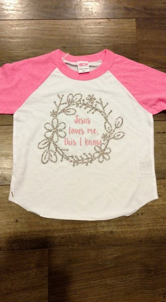 71073f3d4 Religious Clothing - Jesus Loves Me - Christian Clothing - Toddler Shirt -  Children's Clothing - Baseball Tee - 3/4 Raglan - Easter Shirt by  TwoOfAKindSnD ...