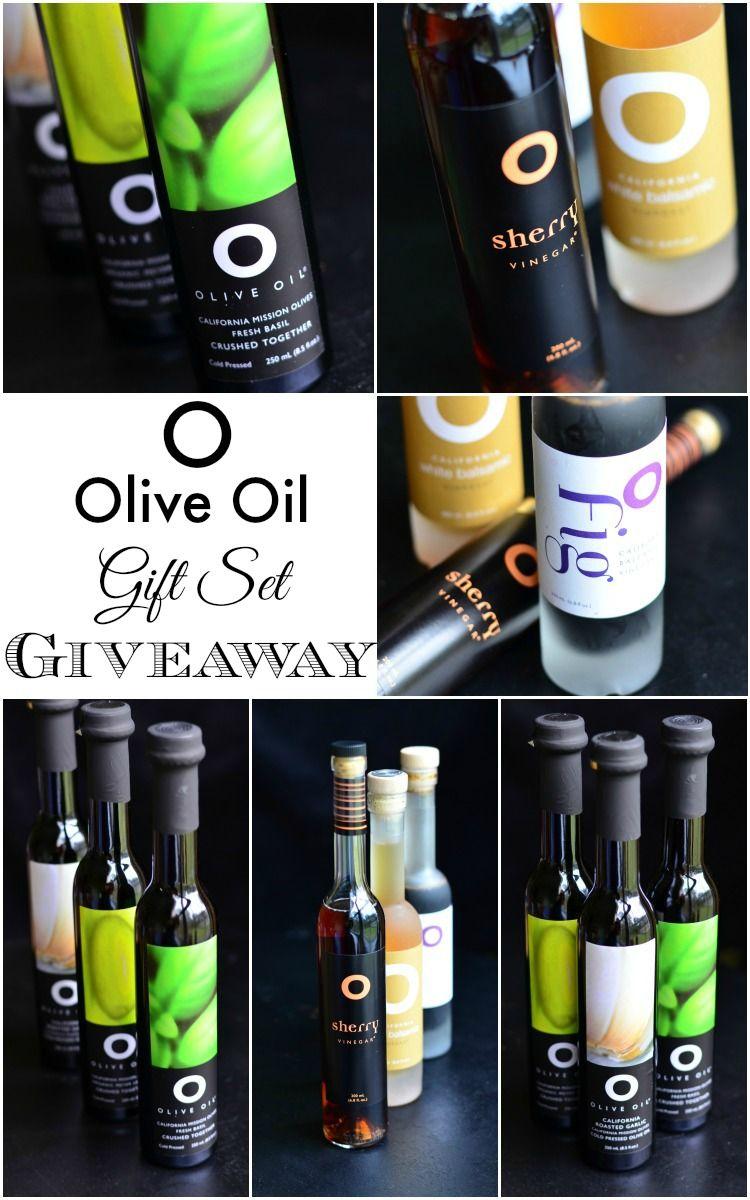 O Olive Oil Gift Set Giveaway | $110 value