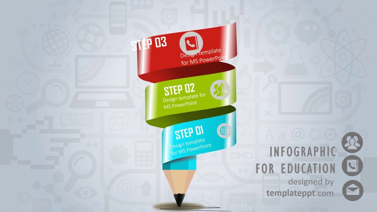 Animated education infographic powerpoint template animation animated education infographic powerpoint template toneelgroepblik Choice Image