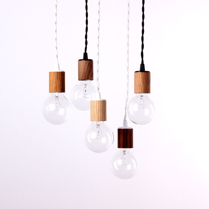 Wood veneer pendant lamp wood veneer pendant lamps and woods one forty three wood veneer pendant lamp 70 5 white ceiling canopy mozeypictures Images