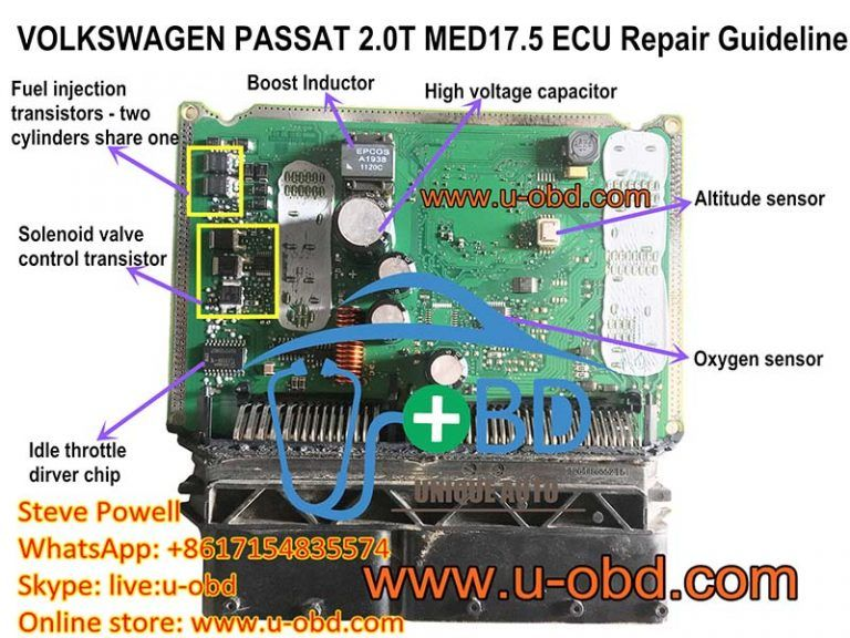 How To Repair Volkswagen Ecu Bosch Med17 5 Motronic Ecu Volkswagen Repair Ecu