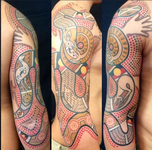 Tattoo Designs Qld: Facebook: Aboriginal And Australian Tattoos · 24 December
