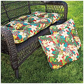 Patio Complete 3 Piece Outdoor Cushion Set At Big Lots Etc