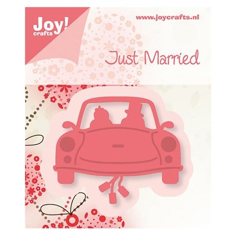 Dessin motif die joy crafts voiture mariage th me mariage amoureux voiture mariage et - Dessin voiture mariage ...