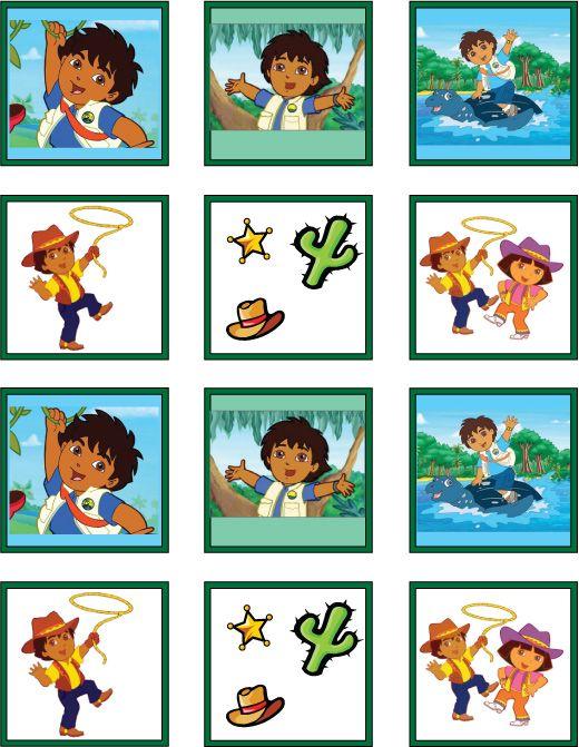 Memory 4 jeux de m mo pinterest jeux et memo - Jeux de nick junior ...