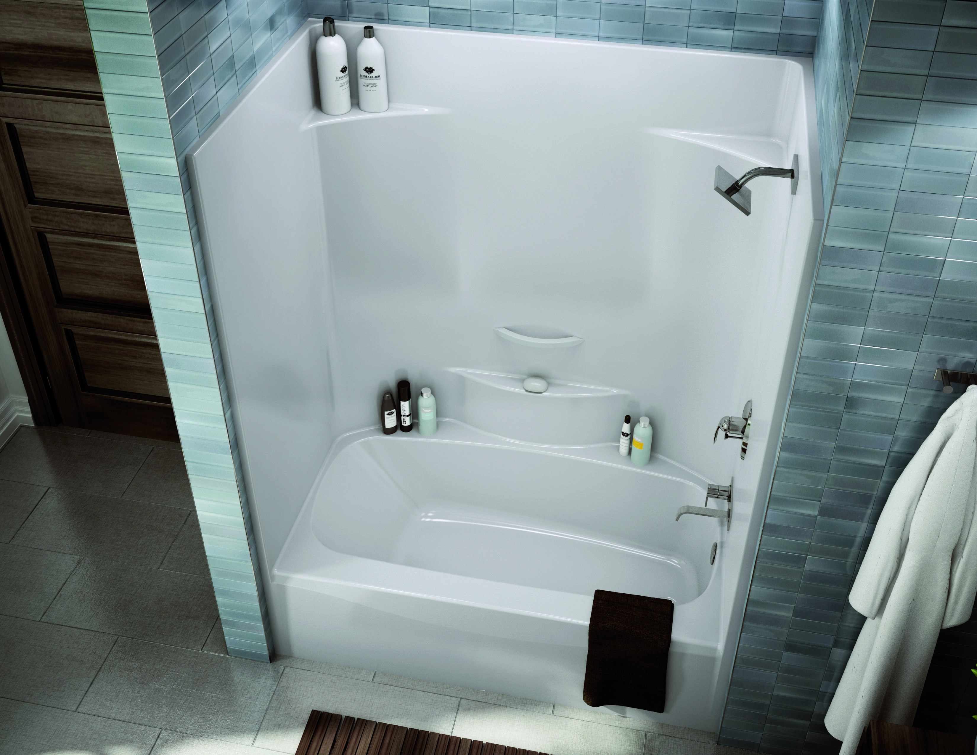 MAAX Tub Installation | TS-3660 Alcove or Tub showers bathtub - MAAX ...
