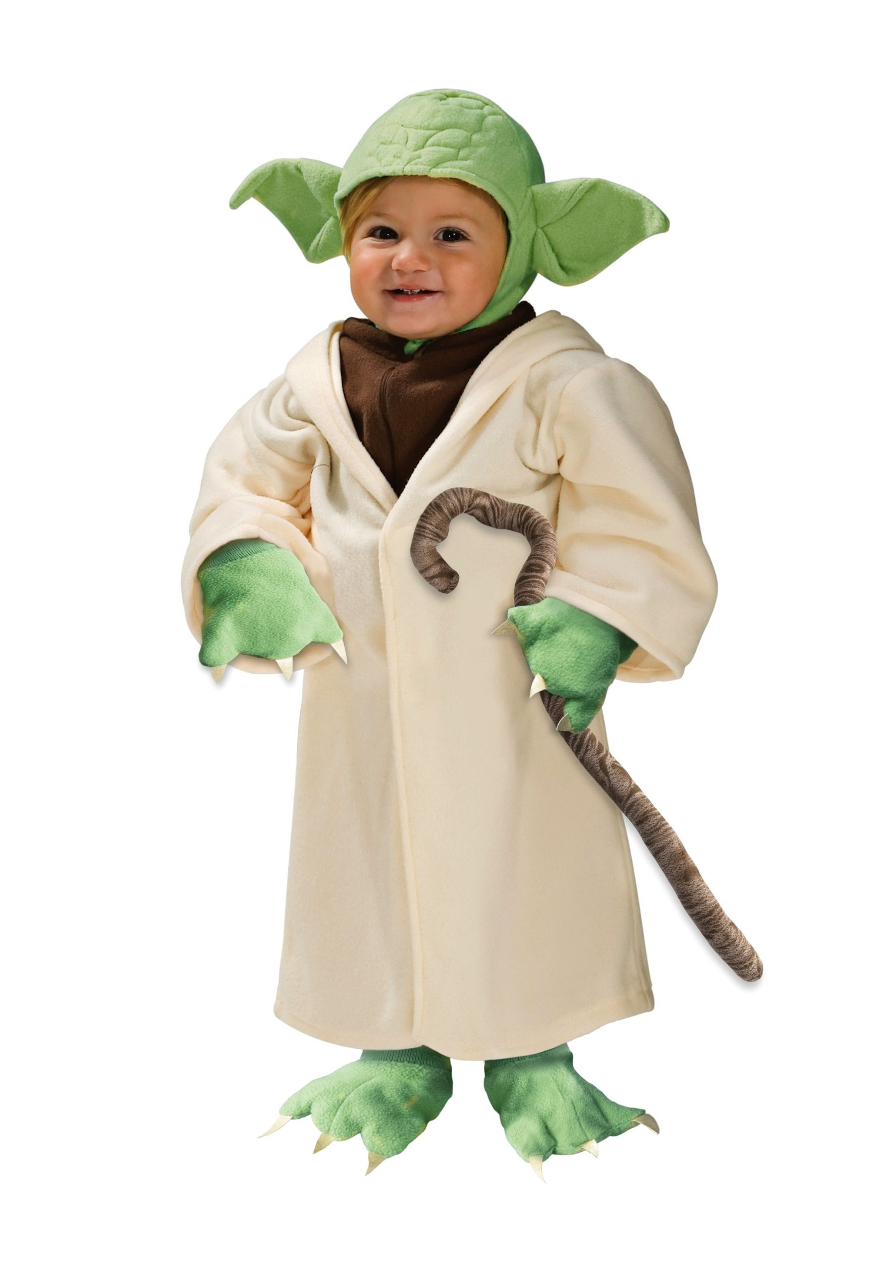 Your toddler will look charming in this wonderful Yoda Star Wars ...