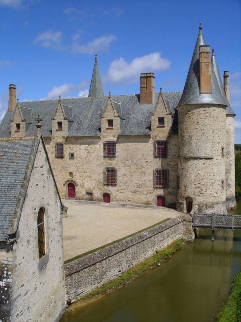 Chapelle Et Chateau Du Bois Orcan Classes Mh Bois Chapelle Etable