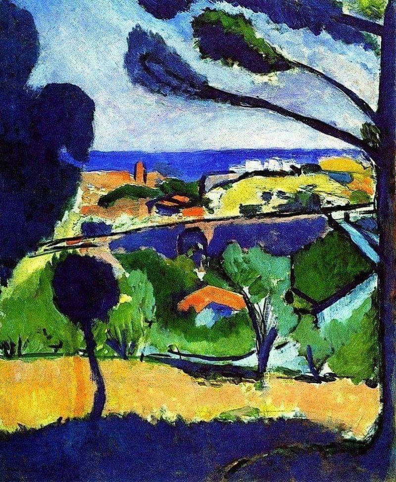 Poisson rouge, 1911 de Henri Matisse (1869-1954, France