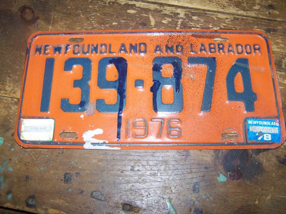Old Metal Ware License Plate As Is GR8 for Display by ATokenOfLove
