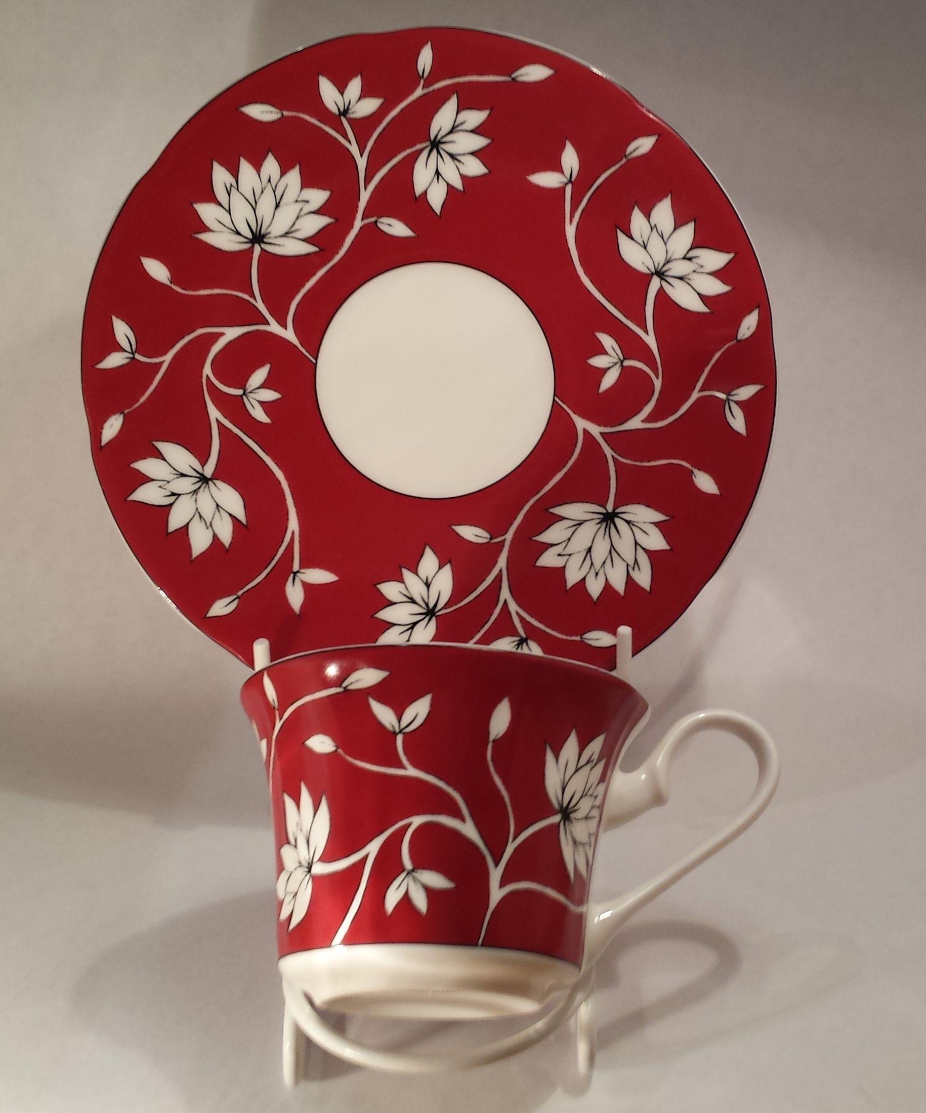 Crazy Tea harlequin set | Teas, Tea cup and Teacup