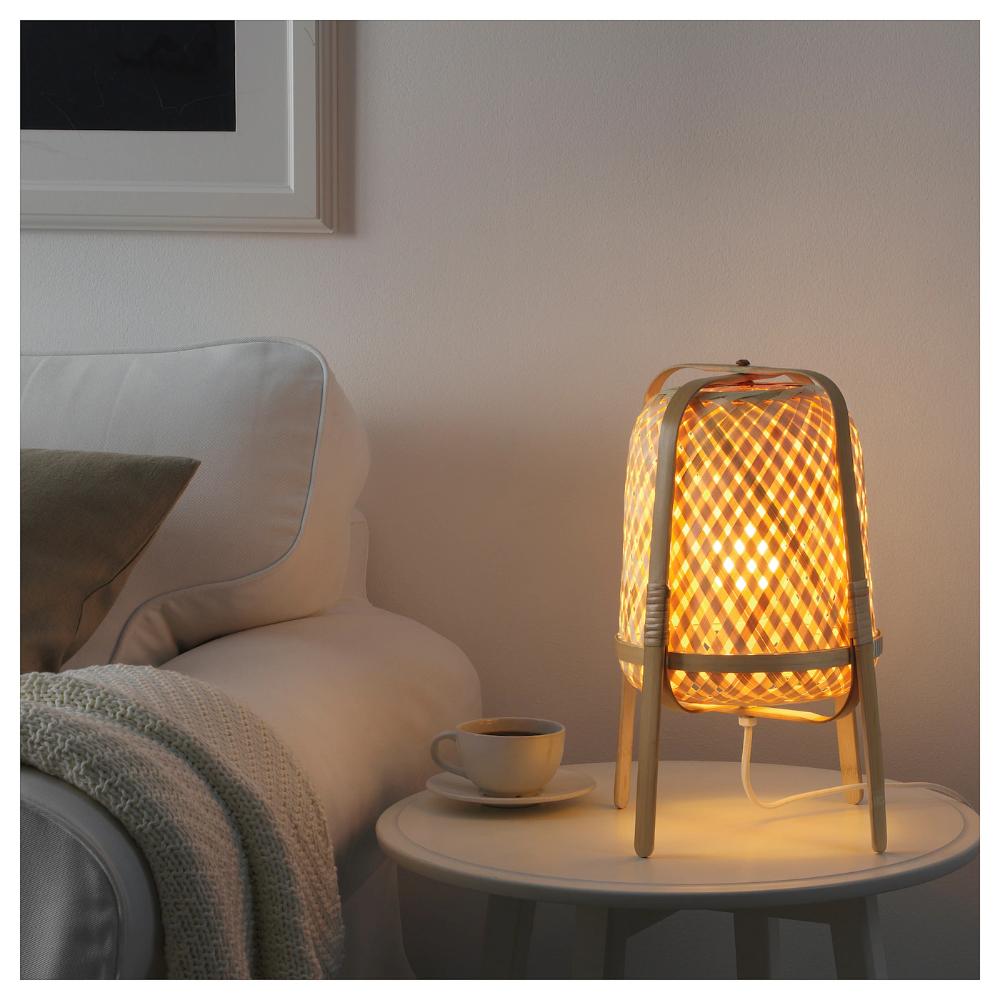Knixhult Lampe De Table Bambou Ikea Suisse Lampes De Table Lampe Bambou Ikea