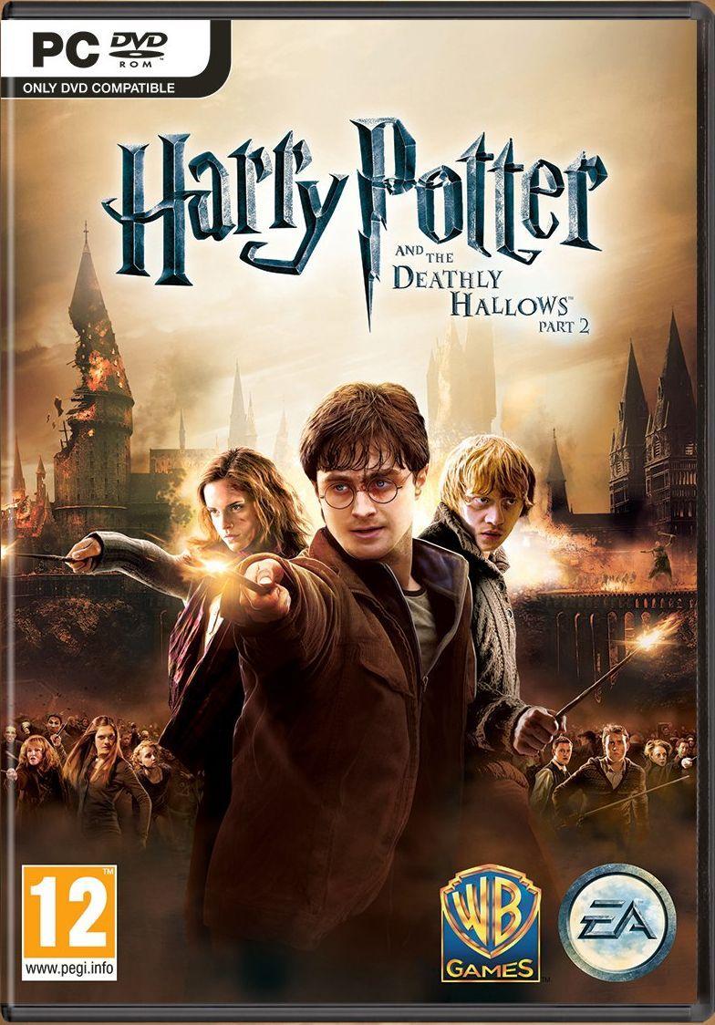 Película Que Corresponde A La Parte 2 Del Libro Número 7 Fin De La Saga Harry Potter Deathly Hallows Part 2 Harry Potter Games Harry Potter Deathly Hallows