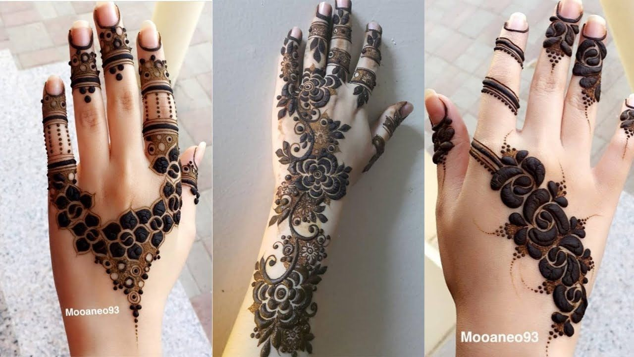 95 Most Diy Beautiful Mixed Arabic Henna Designs Latest Mehndi