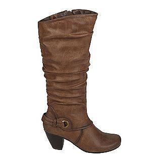 Wear Ever- -Women's Abby Tall Shaft Heeled Boot - Tan