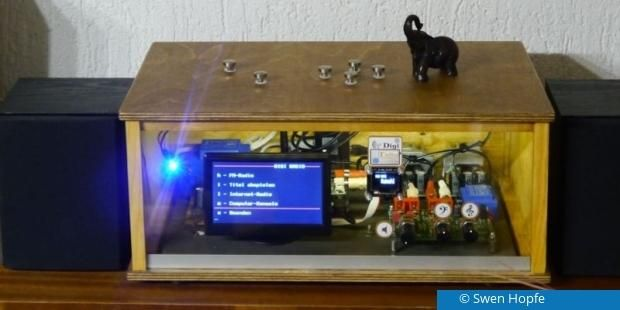 digitalradio mit dab selbst bauen raspberry arduino. Black Bedroom Furniture Sets. Home Design Ideas