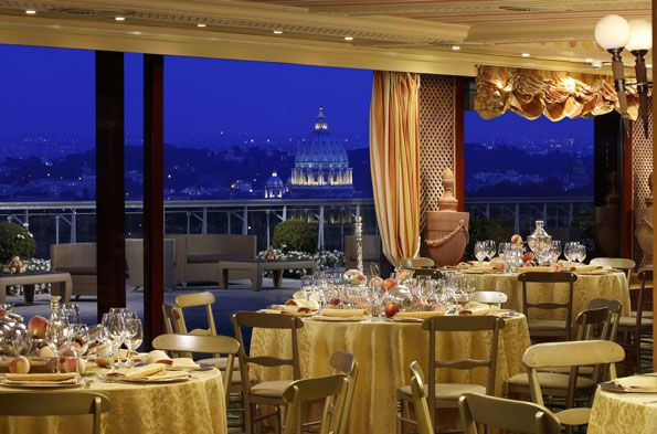 And the best hotel restaurant in the world is