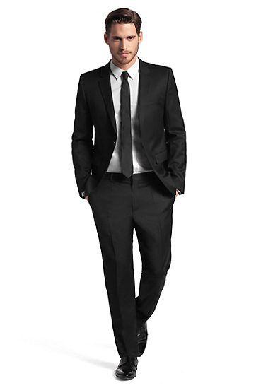Super black 130 anzug aeron hamen von hugo just bought it wedding hochzeitsanzug - Hochzeitsanzug hugo boss ...