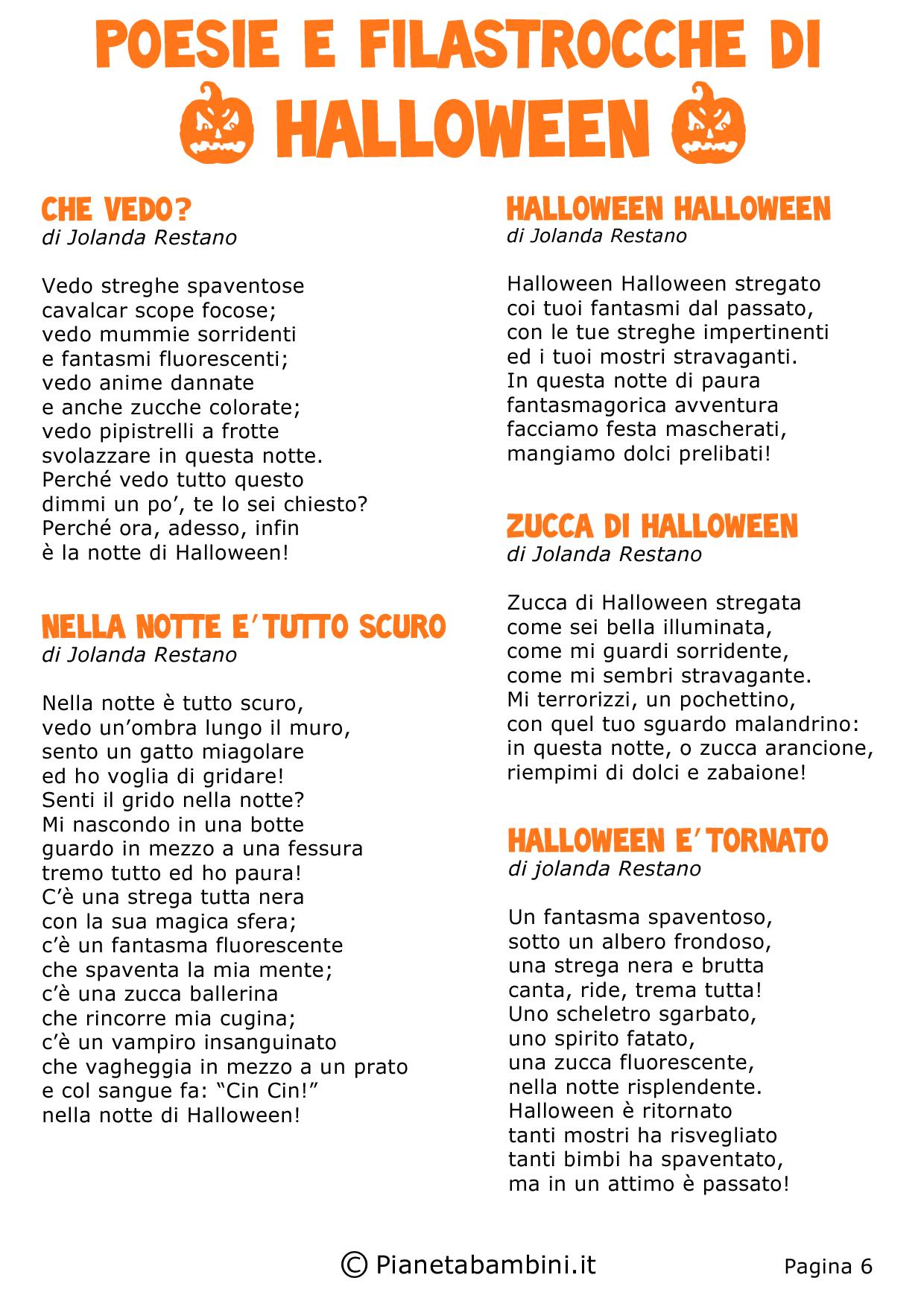 Risultati Immagini Per Storia Di Halloween Per Scuola