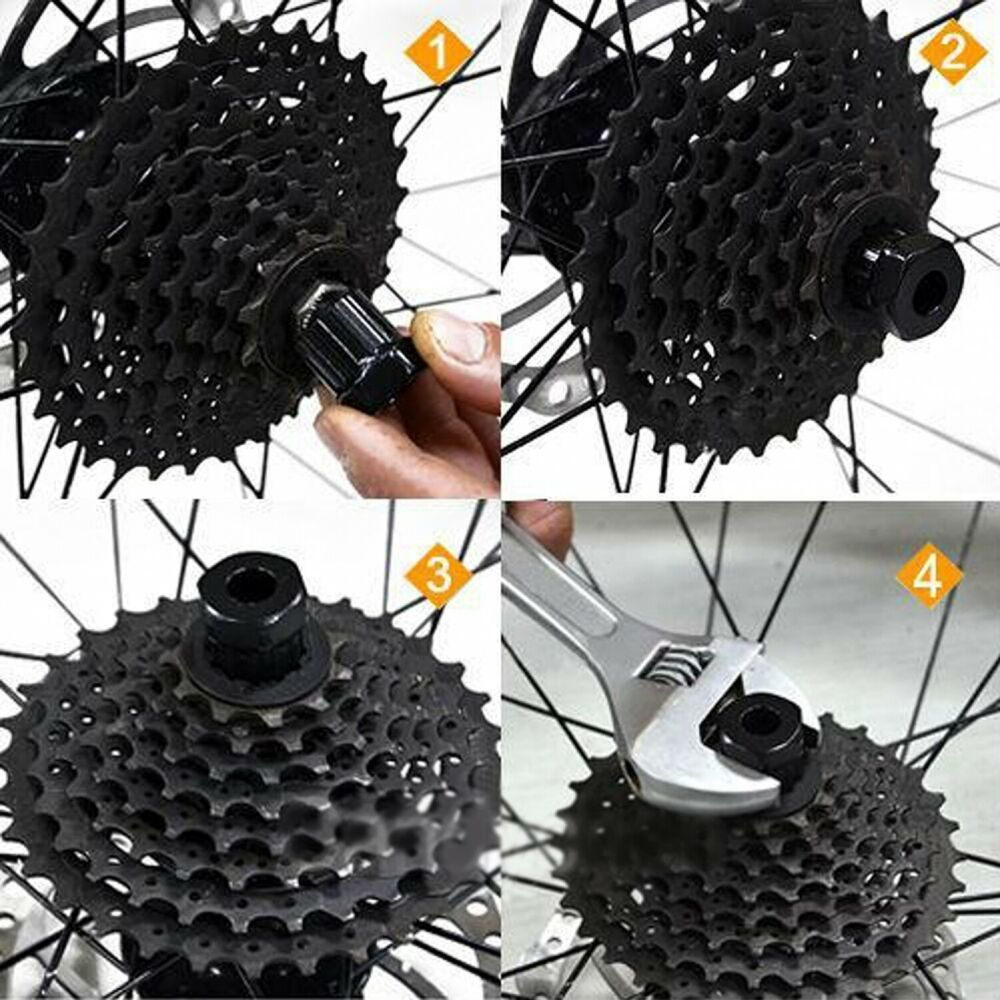 Bicycle Freewheel Cassette Remover Mountain Bike Maintenance Tools 12 Tooth New