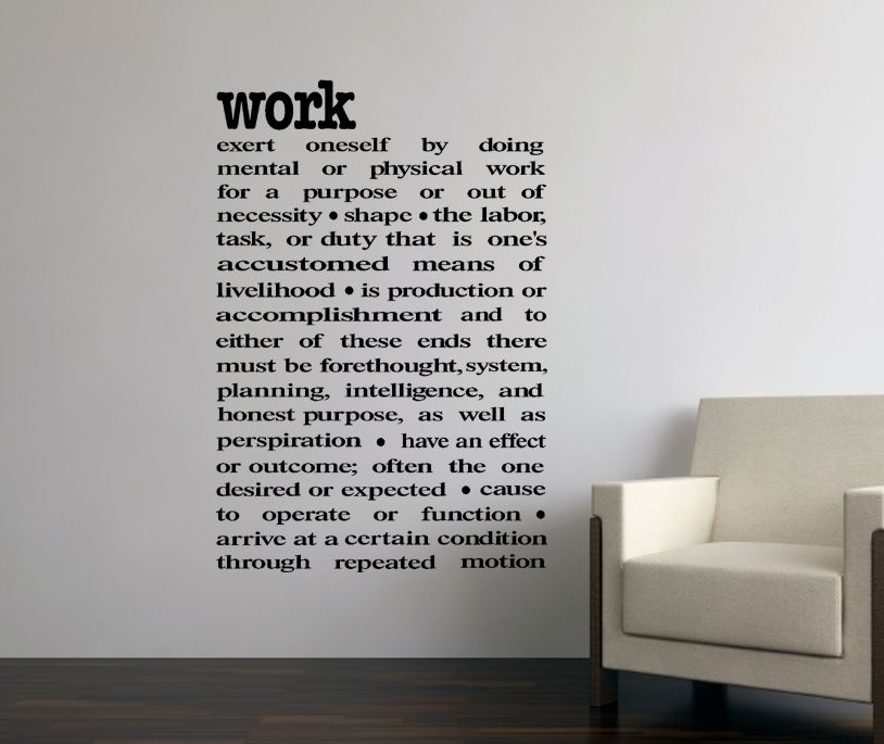 Office Walls Decals Keep The Breakroom Bright With Vinyl Frames - Custom vinyl wall decals sayings for office