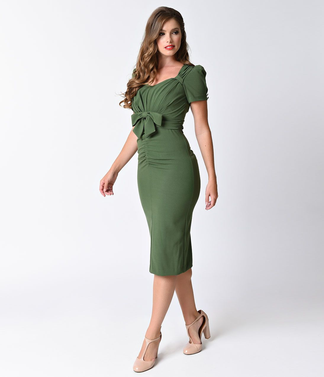 60s green dress  Vintage Style Dresses s s s and s  s Vintage