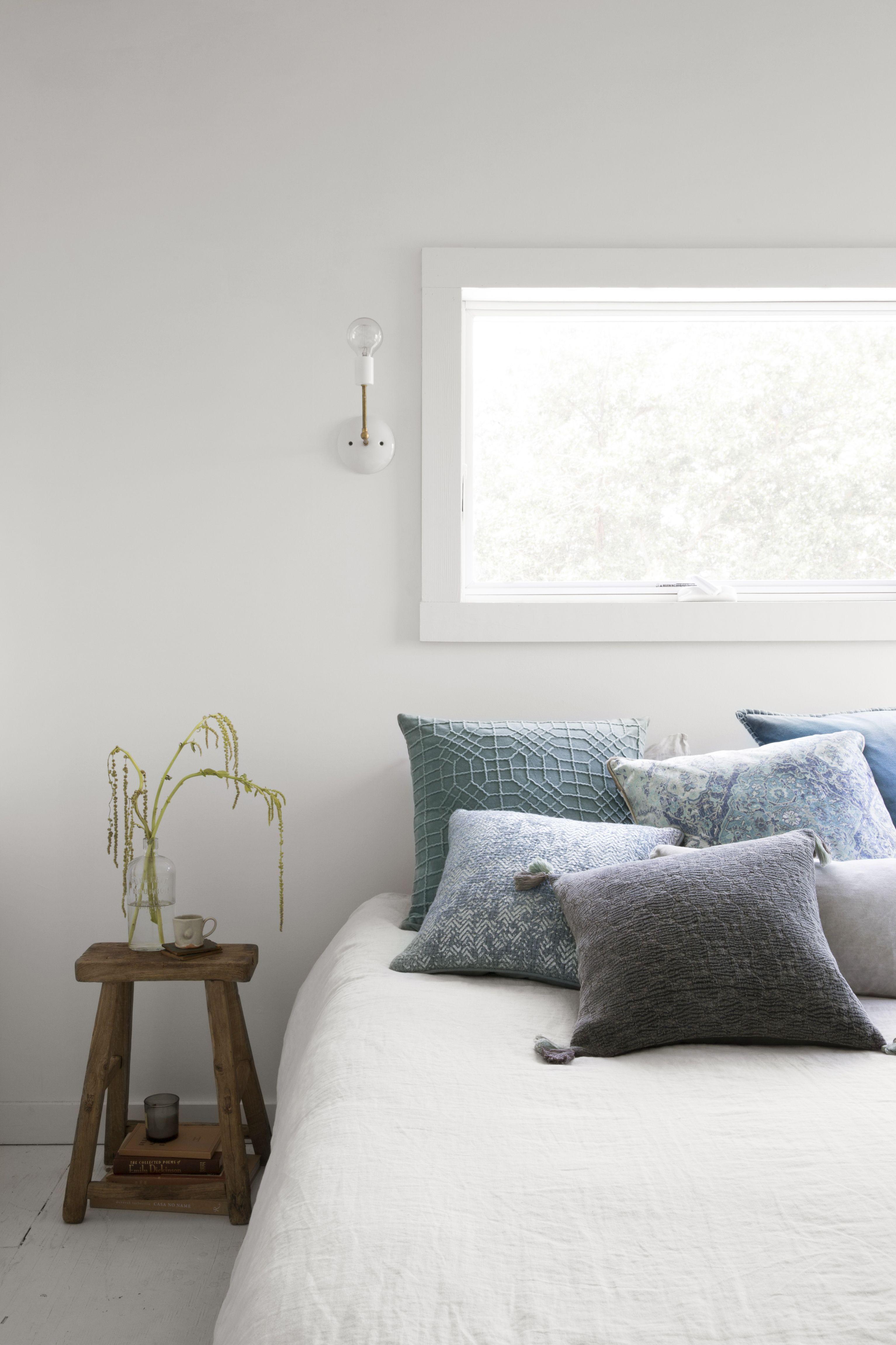 Claret Pillow, Blue | dorm room pillow fort | dorm room pillow fort