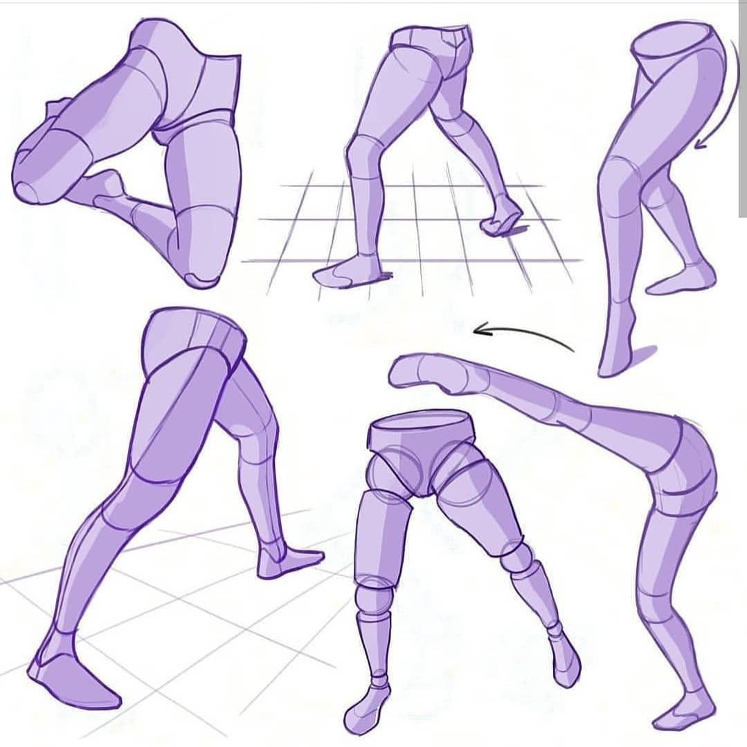 Mitchleeuwe Drawing Legs Figure Drawing Reference Leg Reference