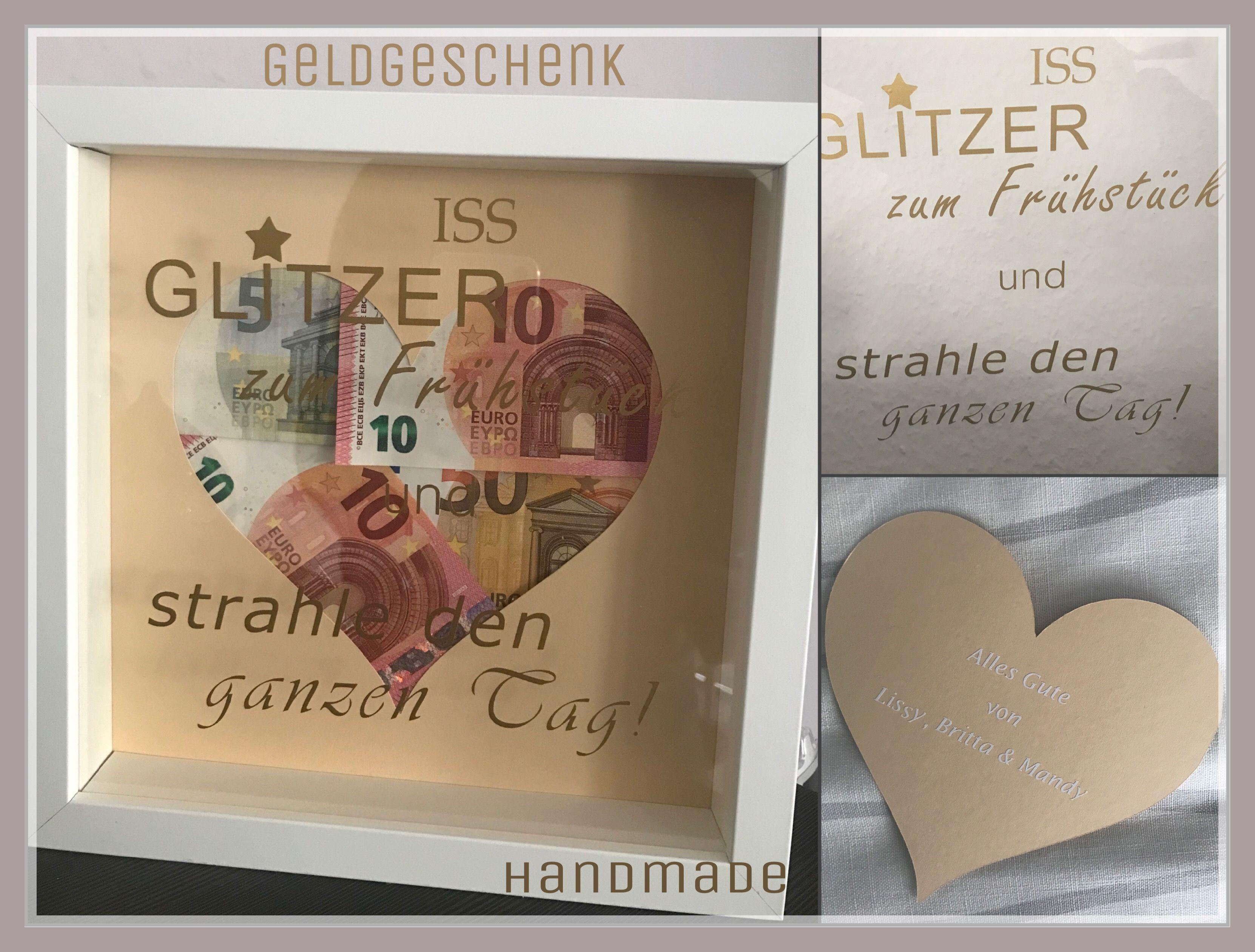 Hochzeit Geldgeschenk Spruch Geldgeschenke Pralinen Sandra Pinterest