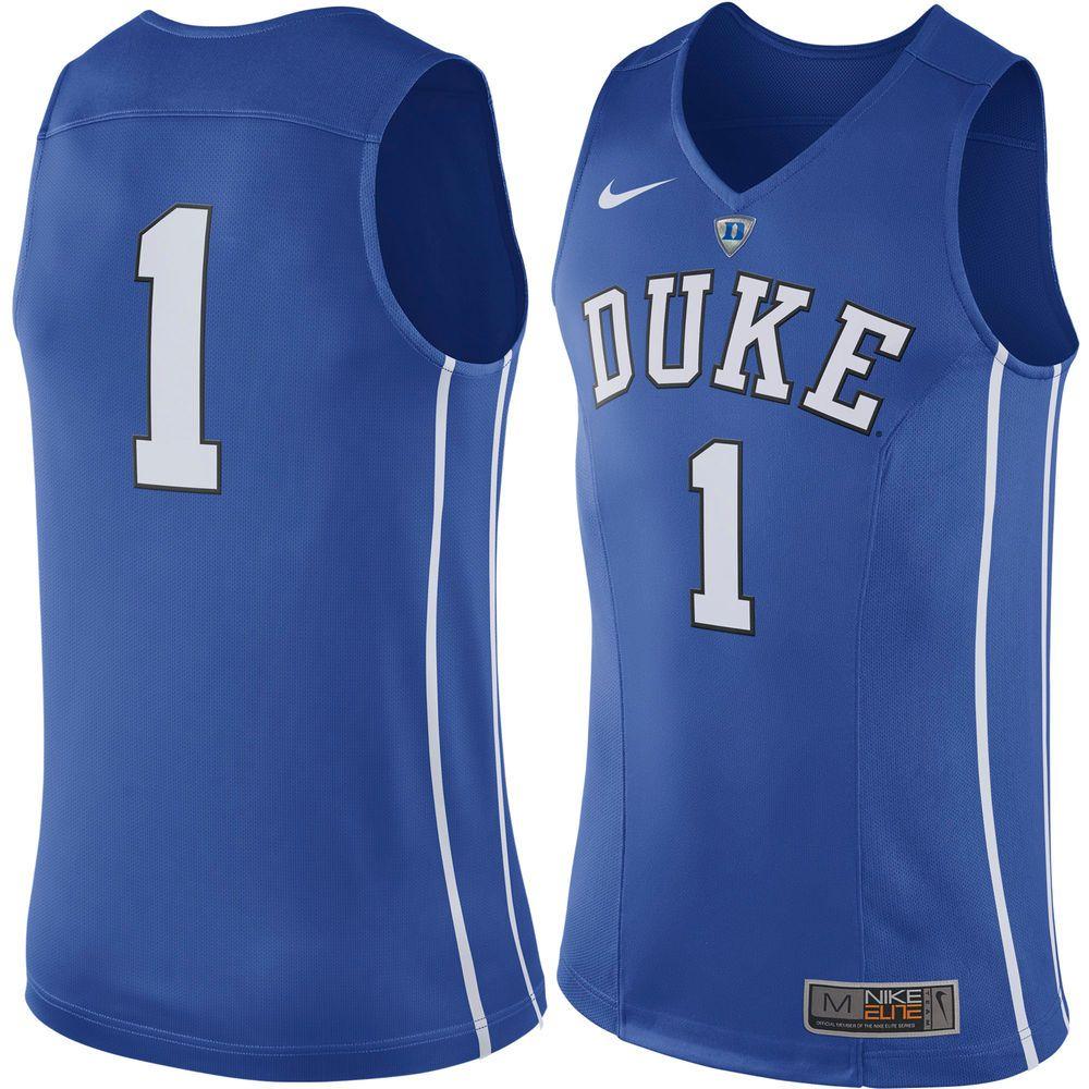 26fe8cb36b56  1 Duke Blue Devils Nike Hyper Elite Authentic Performance Basketball Jersey  - Royal