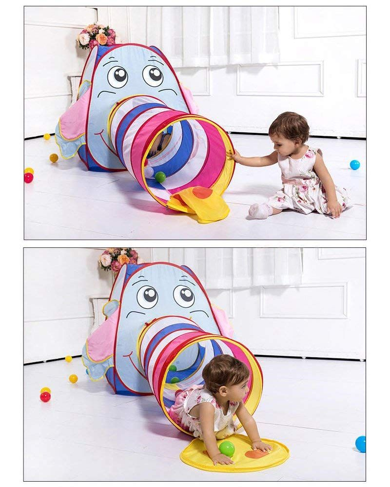 Baby toys images cartoon  Amazon Kids Play Tent Elephant Cartoon Children Play Tent for