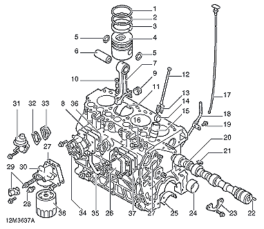 engine diagram | Chevy classic, Used engines, Toyota camryPinterest