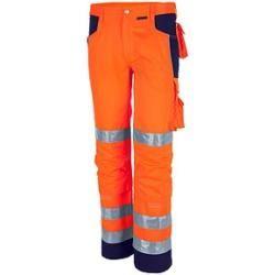 Qualitex® unisex Warnschutzhose orange Größe 42Büroshop24.de
