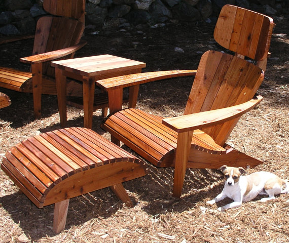 Maybe, The Worlds Most Comfortable Adirondack Chair, Mid Century, Estate Patio  Furniture,