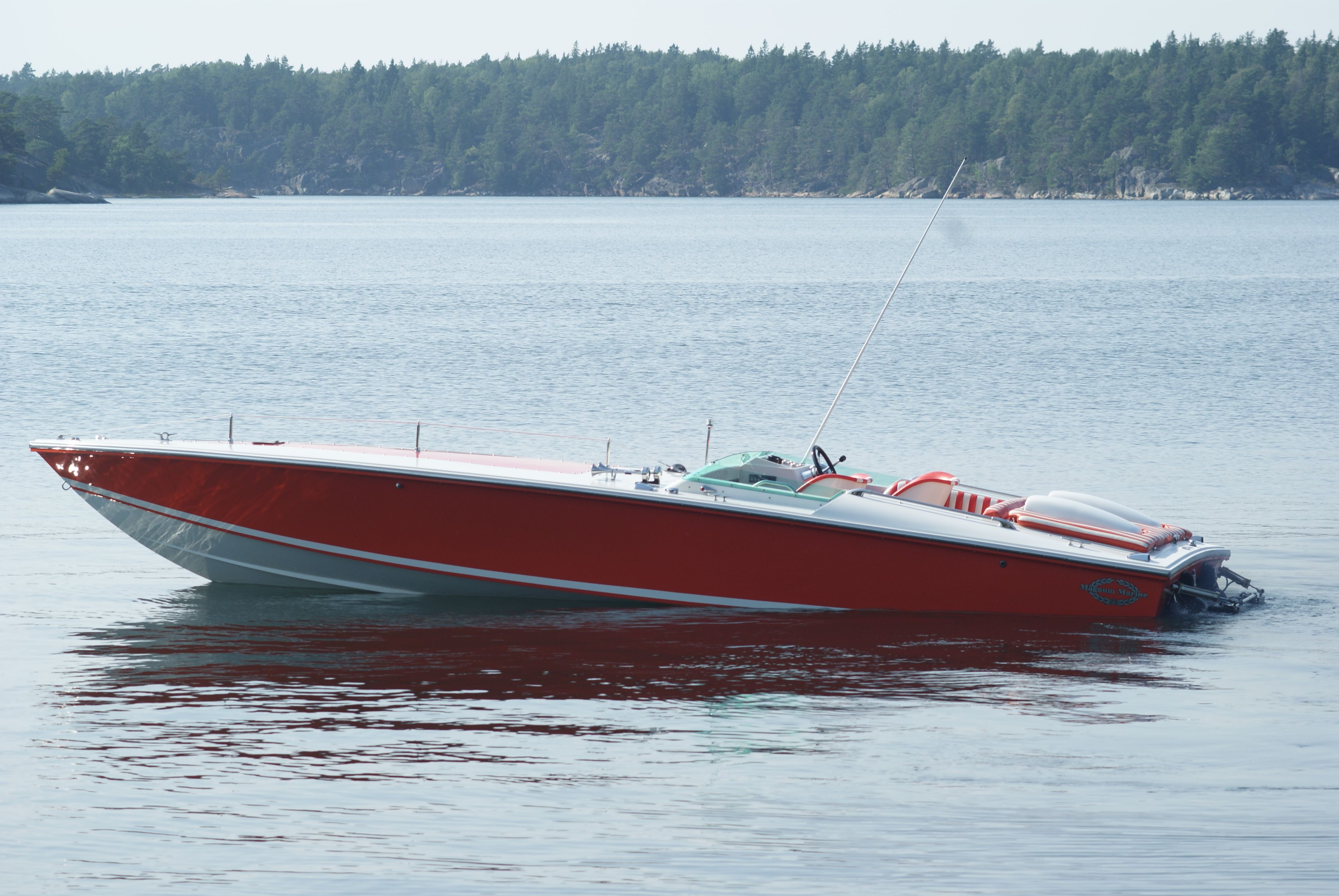 The Magnum 27 Sport 1974 Boats We Like Pinterest