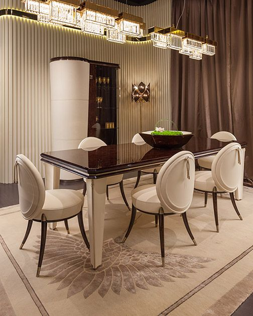 Luxury Dining Room Furniture: Turri - The Art Of Living - Italian Luxury Furniture