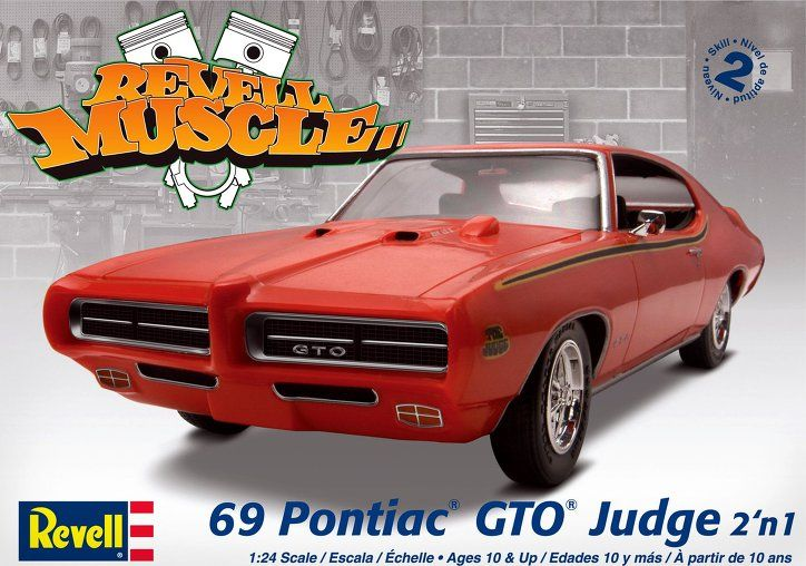 Captivating 69 Pontiac GTO Judge 2 In 1