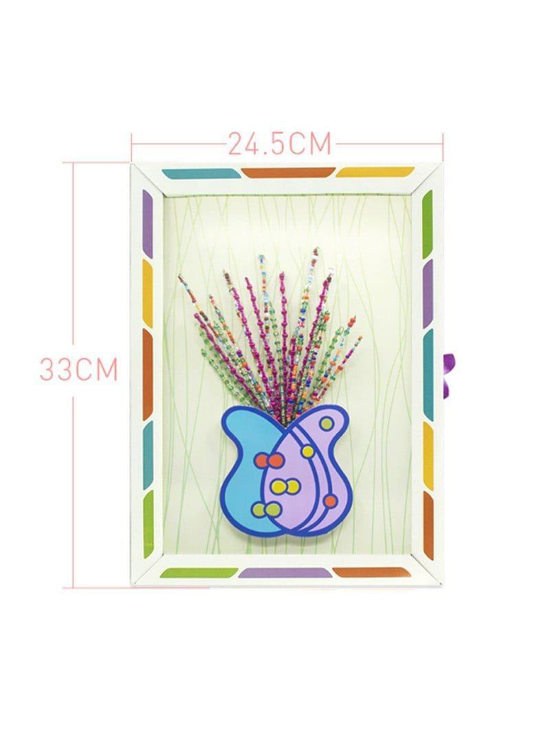 Handmade Diy Kit 3d Frame Cartoon Button Bouquet Ad Spon Kit