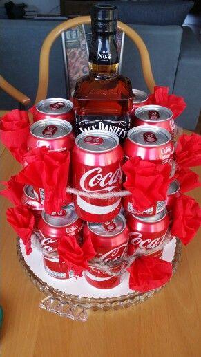 whisky cola kuchen kreativ pinterest spa geschenke. Black Bedroom Furniture Sets. Home Design Ideas
