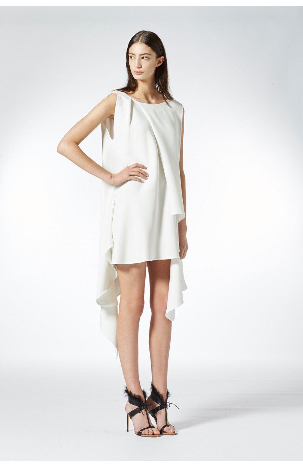 Enrichment Panel Dress | Maticevski AW16 | tonimaticevski.com