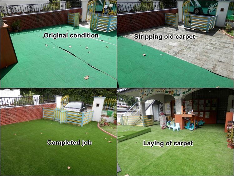 Centrecourt Artificial Grass Carpet, Lawn Carpet, Outdoor Carpet