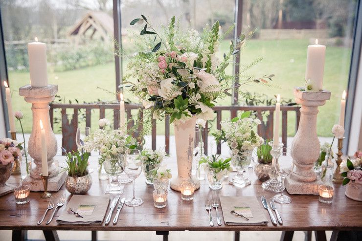 springtime floral and food heaven inspiration with a Claire Pettibone gown | uk wedding blog