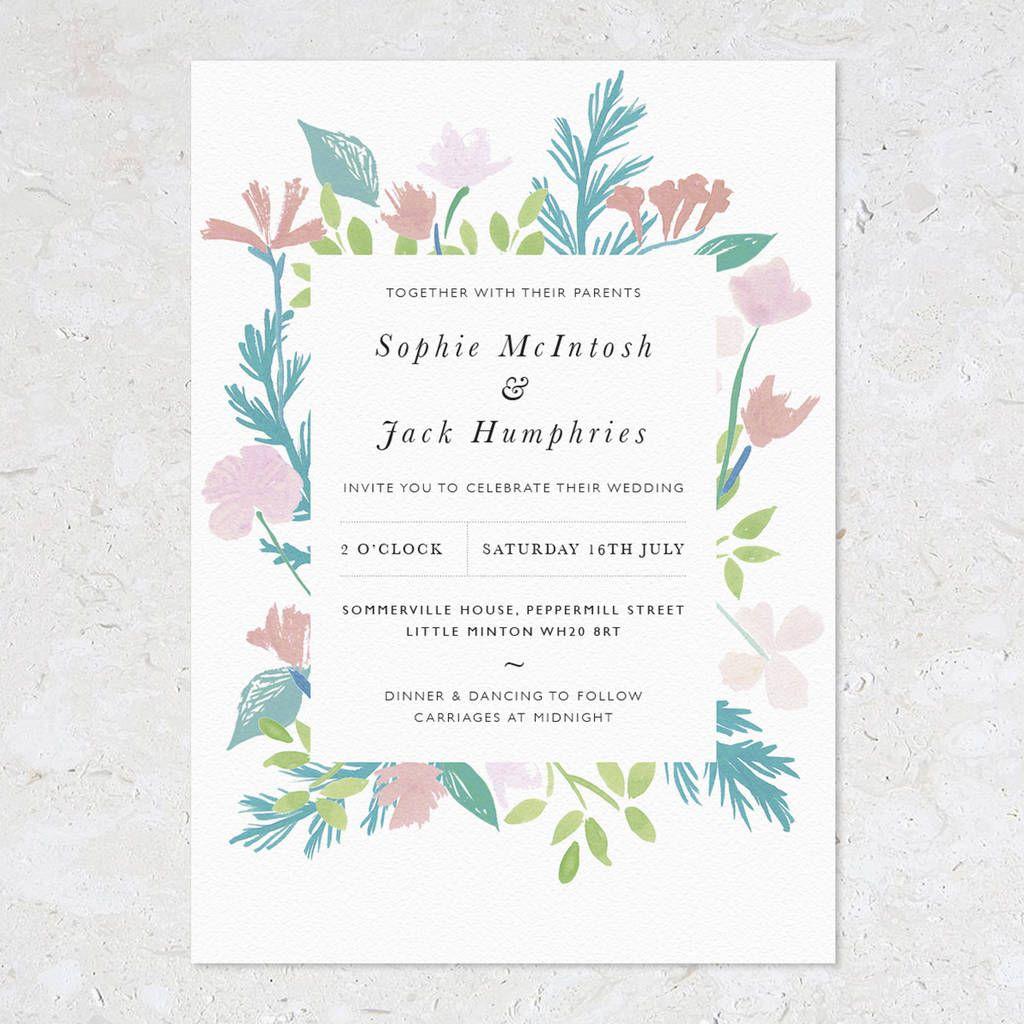 summer wedding invitations - Wedding Decor Ideas