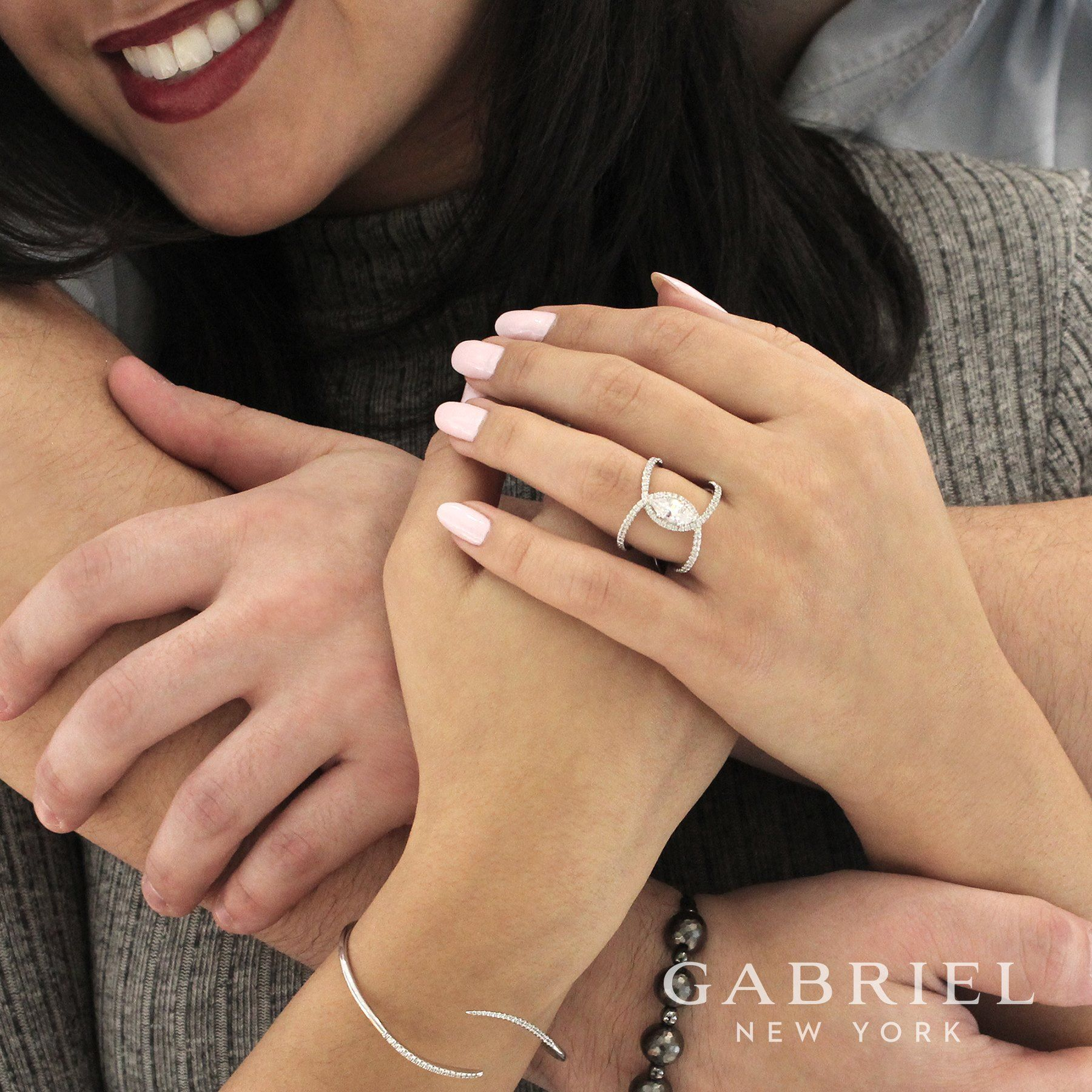 ✨ Dazzling ✨ Explore the unforgettable designs of Gabriel & Co. NY ...