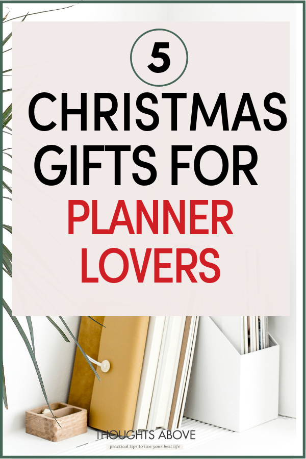 10 best planners organizers for productive 2019 christmas ideas
