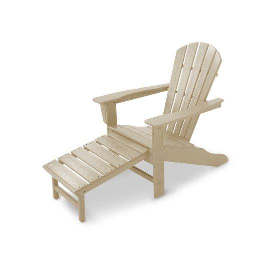 POLYWOOD® South Beach Ultimate Adirondack Chair AllModern Folly - sillas de playa