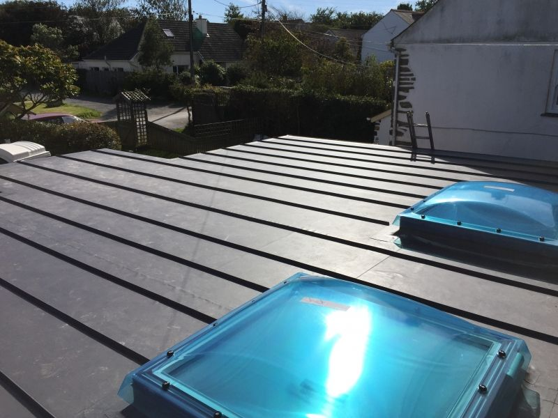 Single Ply Roofing Cornwall Pellow Flat Roofing Ltd Roof Architecture Roofing Affordable Roofing