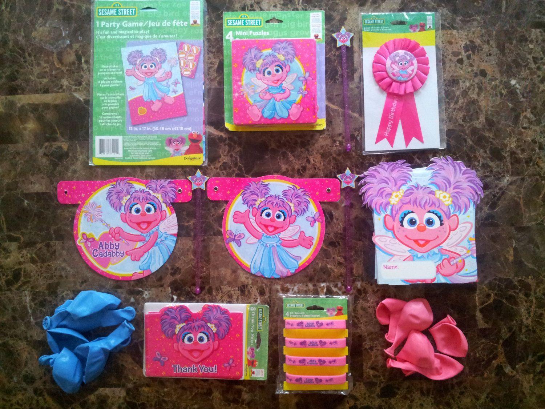 Abby Cadabby Party Decorations Abby Cadabby Party Package Abby Cadabby Party Decorations